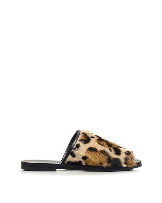 Frēda Salvador - Multicolor Haircalf Handmade Pure Jaguar Slides - Lyst