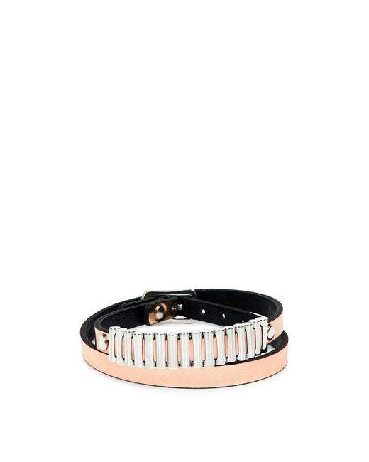 McQ Alexander McQueen | Bullets Metallic Wrap Bracelet | Lyst