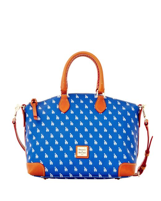 Dooney & Bourke - Blue Mlb Dodgers Satchel - Lyst
