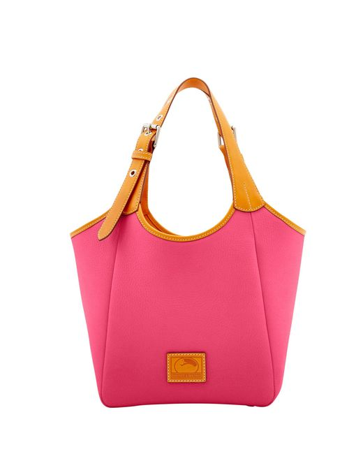 Dooney & Bourke - Pink Patterson Leather Penelope - Lyst