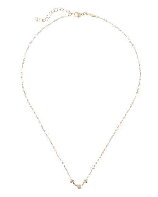 Jacquie Aiche - Metallic Emily Three Diamond Necklace - Lyst