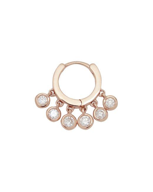 Jacquie Aiche | Metallic Diamond Shaker Hoop Earring | Lyst