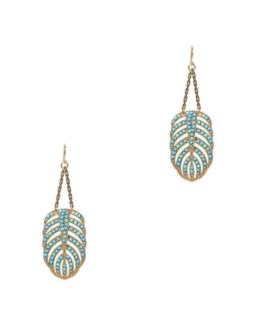Lulu Frost - Multicolor Hibiscus Earrings - Lyst
