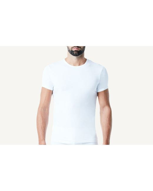 Intimissimi | White Microfiber Crew Neck T-shirt for Men | Lyst