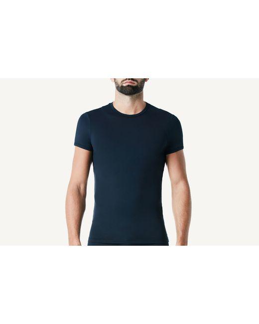 Intimissimi | Blue Microfiber Crew Neck T-shirt for Men | Lyst