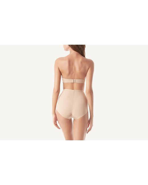 03b6c2fad1 ... Intimissimi - Natural High Waist Shapewear Panties - Lyst ...