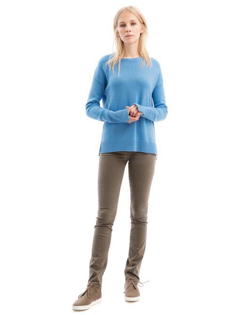 iris von arnim pullover balham in blue lyst. Black Bedroom Furniture Sets. Home Design Ideas