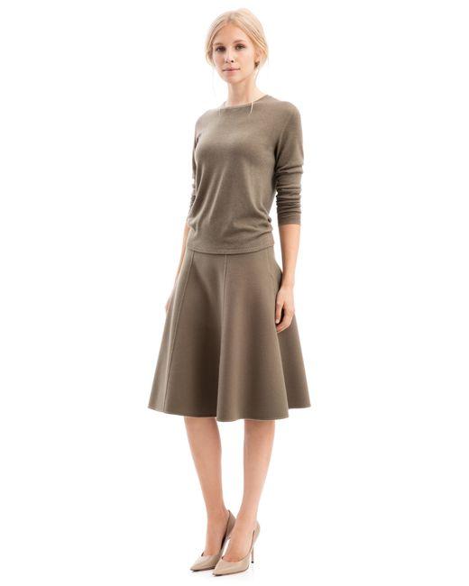iris von arnim pullover riverstone in brown lyst. Black Bedroom Furniture Sets. Home Design Ideas