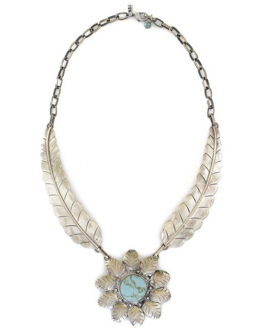 natalie b jewelry two el sol necklace in metallic