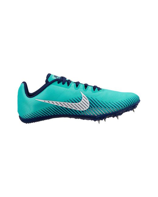 Nike - Blue Zoom Rival M 9 Track Spike for Men - Lyst ... e3ff25ec8