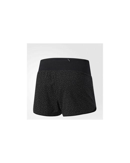 8865983cfc56e ... Adidas - Black Women s Supernova Glide Shorts - Lyst