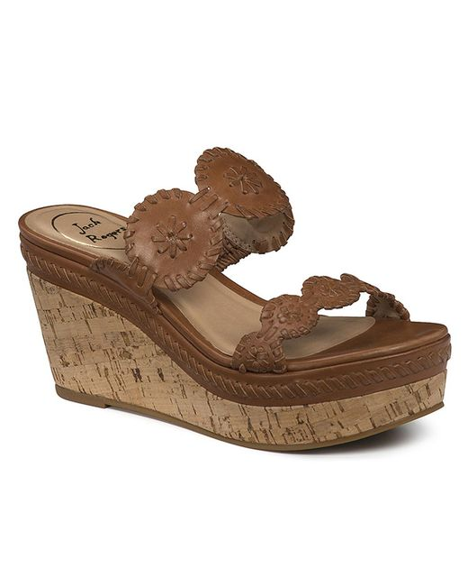 Jack Rogers - Brown Leigh Wedge - Lyst