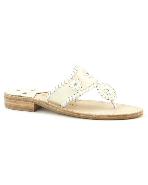 Jack Rogers - White Wide Palm Beach Sandal - Lyst