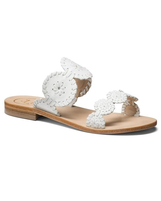 Jack Rogers - White Exclusive Lauren Sandal - Lyst
