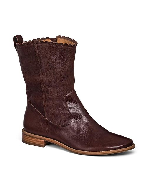 Jack Rogers - Brown Carly Leather Boot - Lyst