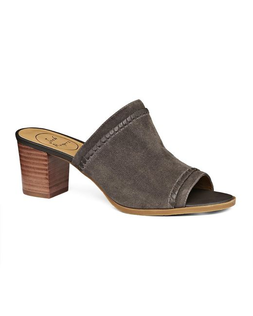 Jack Rogers - Gray Campbell Suede Mule - Lyst
