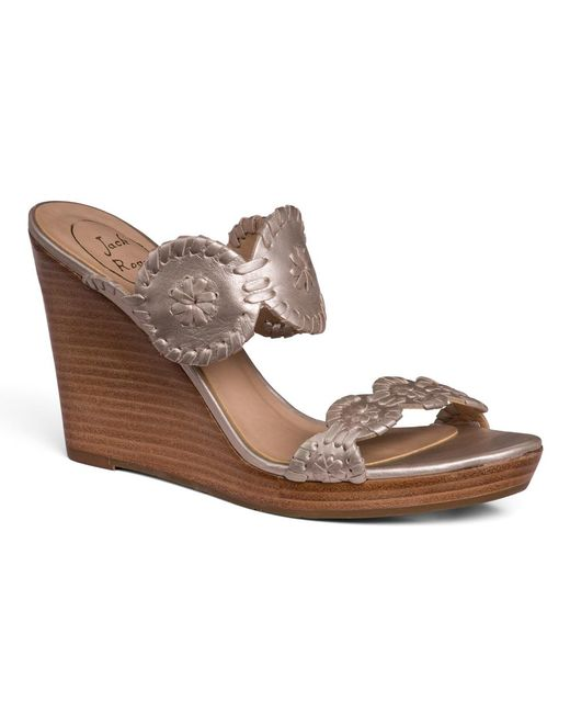 Jack Rogers | Gray Luccia Wedge | Lyst