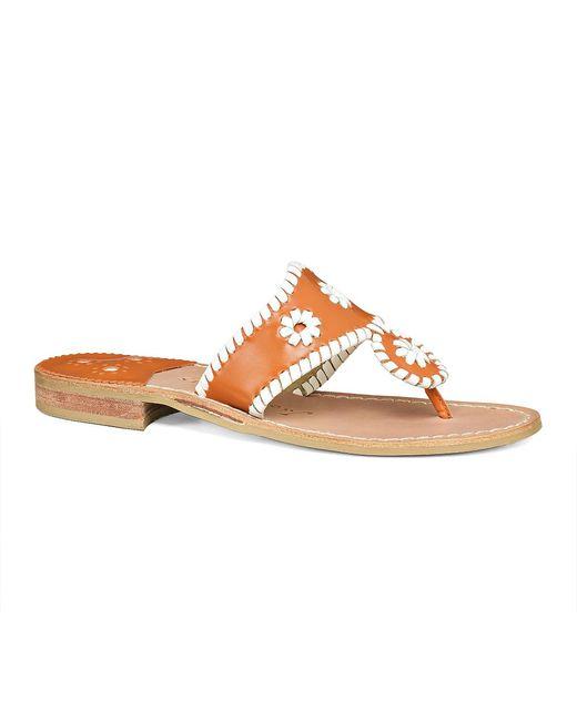 Jack Rogers | Orange Spirit Sandal | Lyst