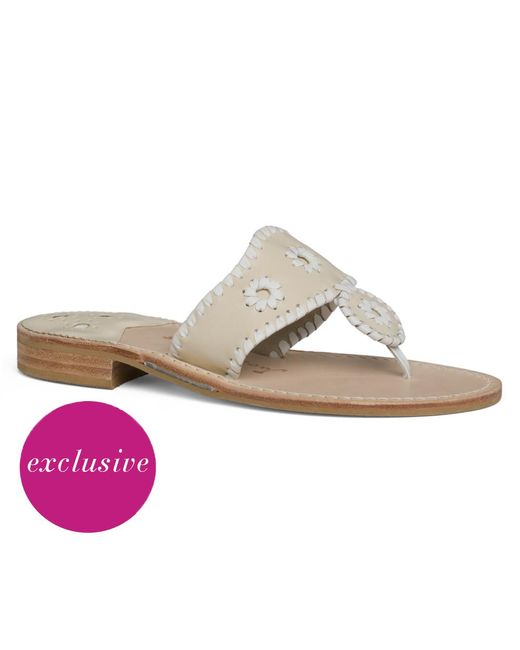 Jack Rogers | Natural West Palm Beach Sandal | Lyst