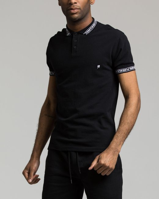 10.deep - Black Sharps Polo for Men - Lyst