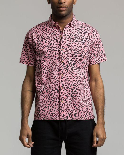 10.deep - Pink South Beach Shirt for Men - Lyst