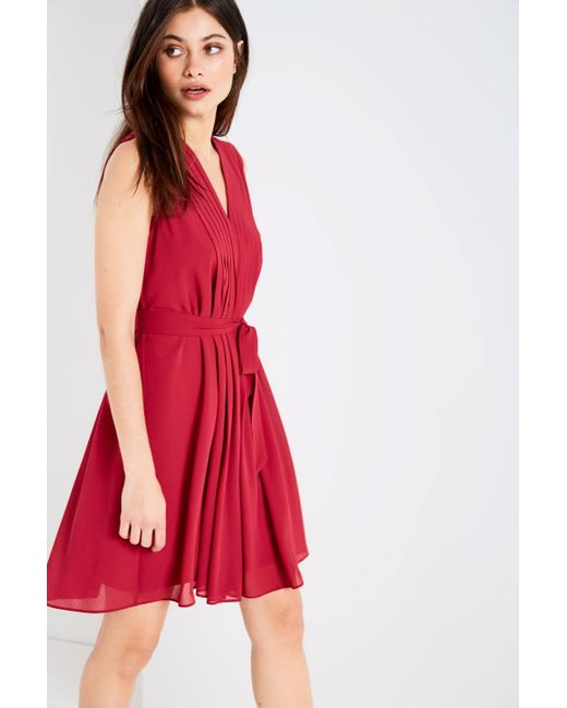 Jack Wills | Red Whieldon Pleated Dress | Lyst