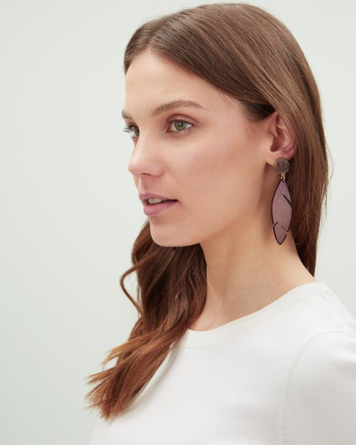 Jaeger - Multicolor Heidi Cheeseplant Earrings - Lyst