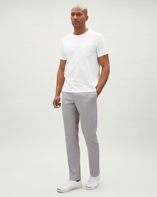 Jaeger - Gray Micro Texture Garment Dye Trouser for Men - Lyst