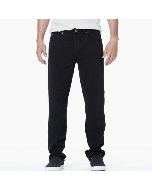 James Perse | Black Cotton Linen Drill 5-pocket Pant for Men | Lyst