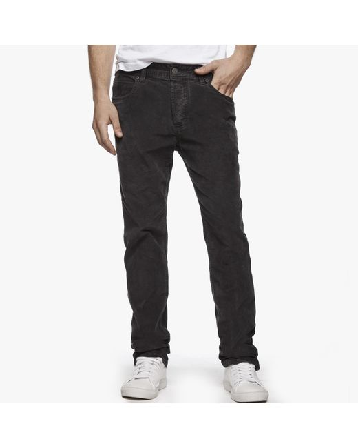 James Perse | Black Stretch Cord 5-pocket Pant for Men | Lyst