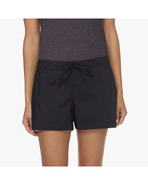 James Perse   Black Laundered Cotton Pajama Short   Lyst