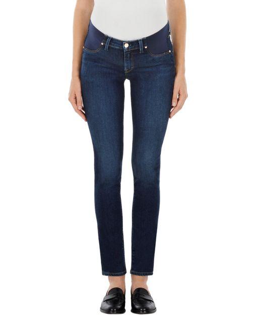 6dcaa37369e42 J Brand - Blue Mama J Mid-rise Skinny In Fleeting - Lyst ...