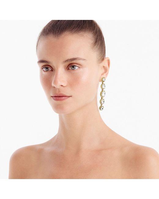 J.Crew - Multicolor Crystal Drop Earrings - Lyst