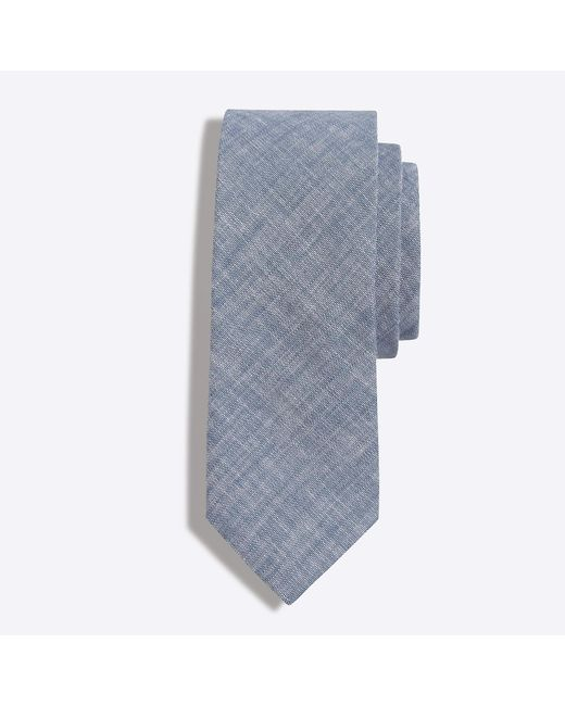 J.Crew - Blue Mercantile Faded Chambray Tie for Men - Lyst