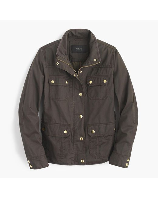 J.Crew | Brown The Tall Downtown Field Jacket | Lyst