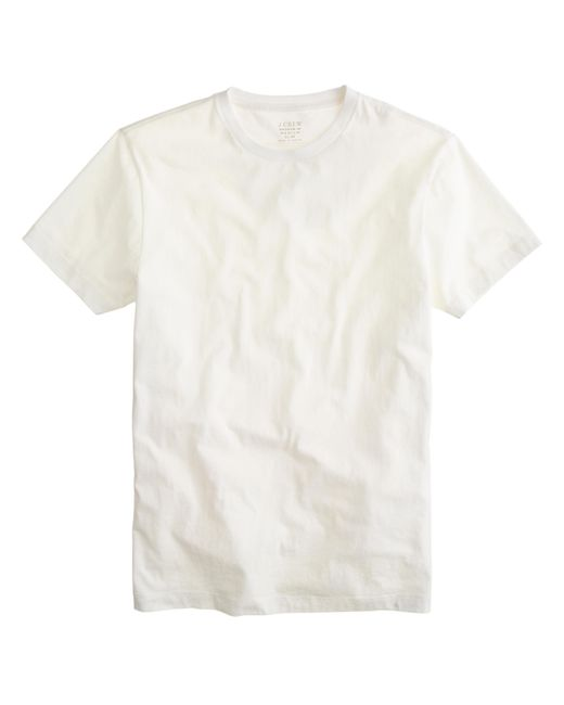 J.Crew | White Slim Broken-in T-shirt for Men | Lyst
