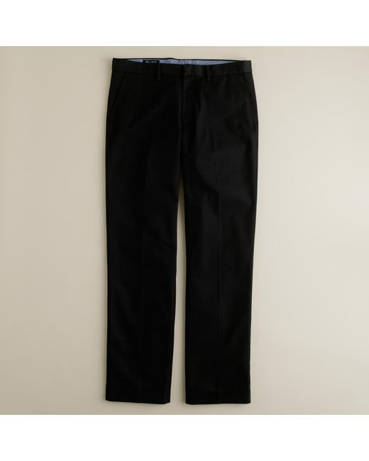 J.Crew   Black Bowery Classic Pant In Cotton Twill for Men   Lyst