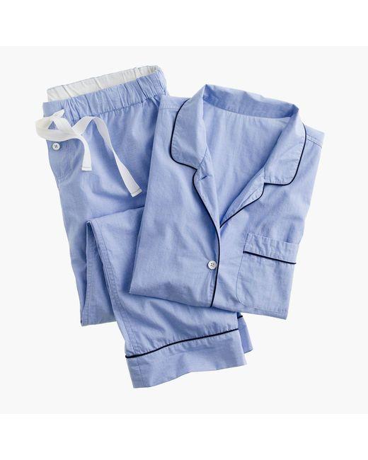 J.Crew - Blue Vintage Short-sleeve Pajama Set - Lyst