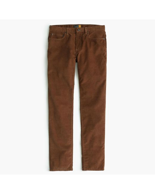 J.Crew | Brown Vintage Cord In 484 Fit for Men | Lyst