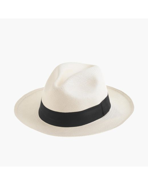 J.Crew   White Panama Hat   Lyst