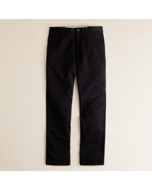 J.Crew | Black Essential Chino Pant In 770 Straight Fit for Men | Lyst