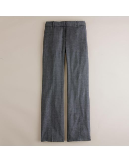 J.Crew   Gray 1035 Trouser In Super 120s Wool   Lyst