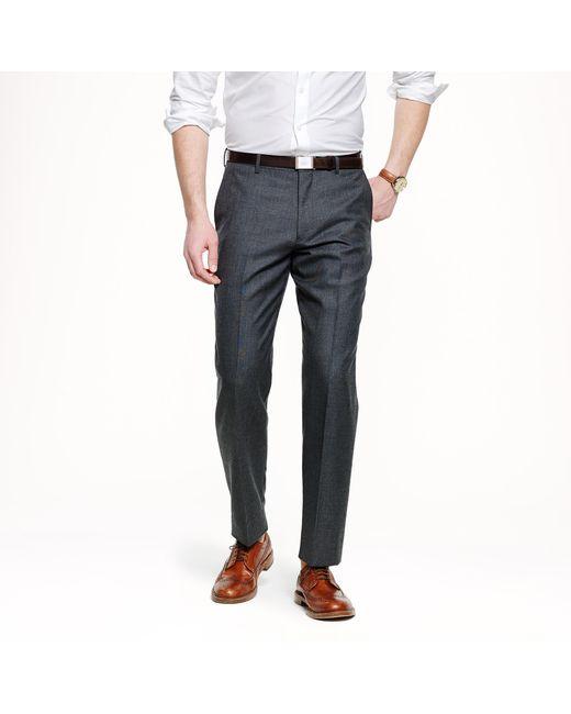J.Crew | Gray Ludlow Classic Suit Pant In Italian Cashmere for Men | Lyst