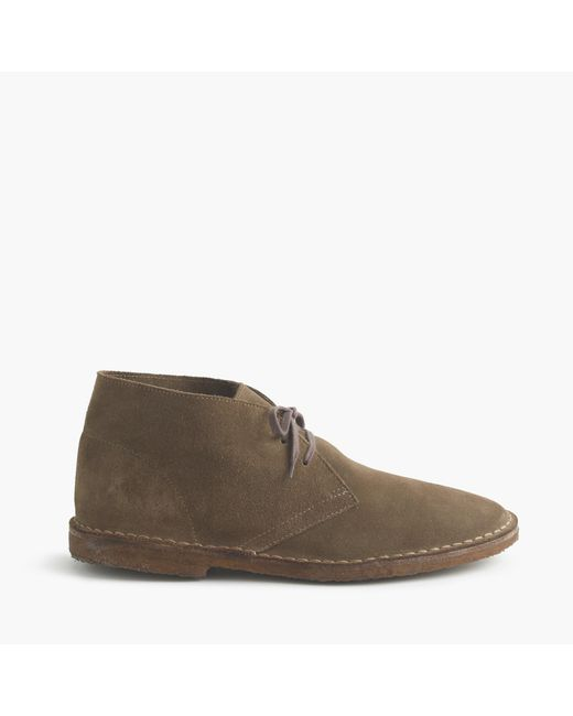 J.Crew | Gray Classic Macalister Boots In Suede for Men | Lyst