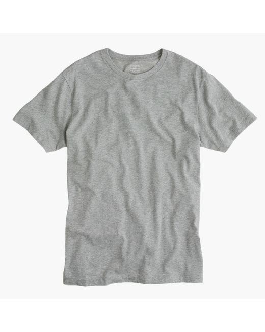 J.Crew - Gray Tall Broken-in T-shirt for Men - Lyst