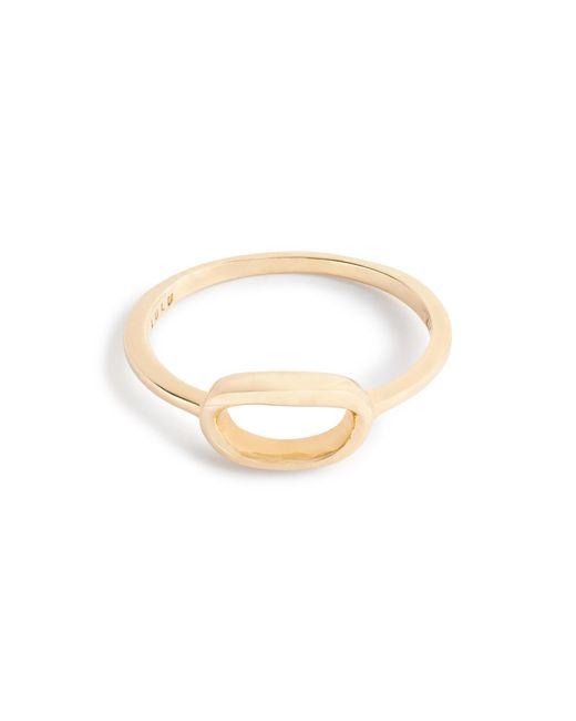 J.Crew   Metallic Lulu Frost 14k Gold Code Ring   Lyst