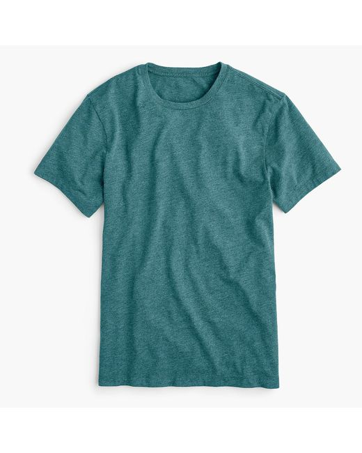 J.Crew - Blue Mercantile Broken-in Crewneck T-shirt for Men - Lyst