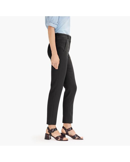 c2a51abe714 ... J.Crew - Black Tall Cameron Slim Crop Pant In Stretch Cotton - Lyst ...