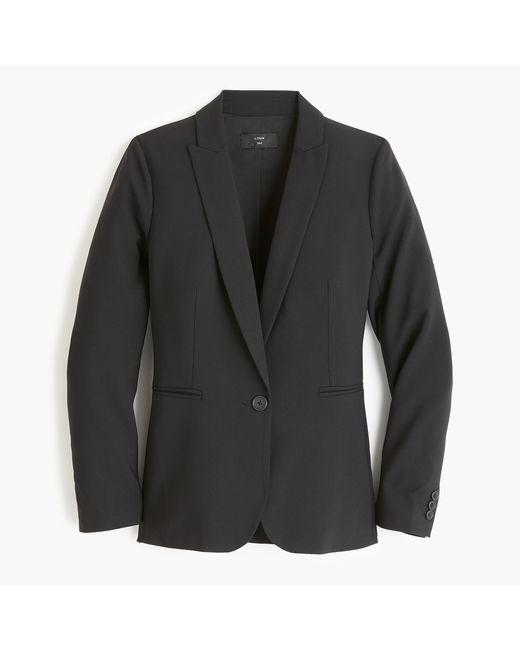 J.Crew - Black Parke Blazer In Italian Stretch Wool - Lyst