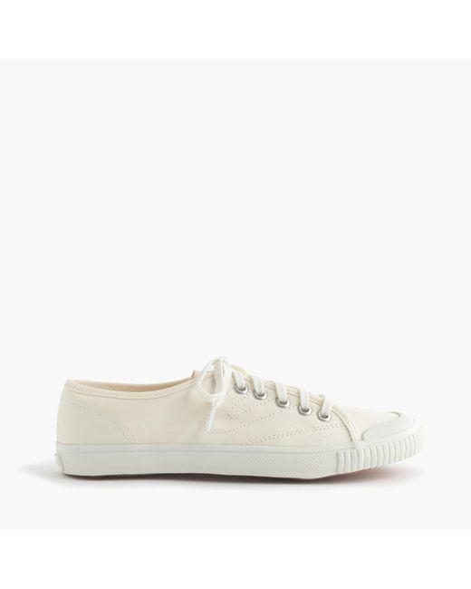 J.Crew | White Women's Tretorn Canvas T56 Sneakers | Lyst